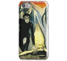 The Cabinet of Dr. Calgari - Silent Movie poster iPhone Case/Skin