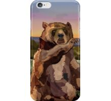 Waving Bear iPhone Case/Skin
