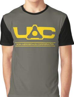 UAC - Doom Yellow Graphic T-Shirt