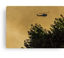 Firefighters in the Sky Canvas Print