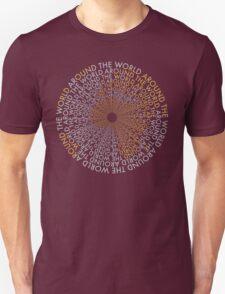 Around the World - Gold, Silver Unisex T-Shirt