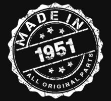 MADE IN 1951 ALL ORIGINAL PARTS by smrdesign