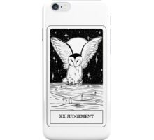 XX Judgement Tarot Card Design  iPhone Case/Skin