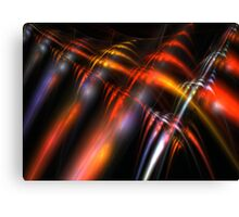 Red Cords Canvas Print