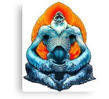 psychic yeti Canvas Print