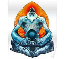 psychic yeti Poster