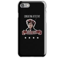 Consulting detective Sherlock Holmes iPhone Case/Skin