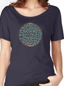 Silhouettes of dinosaurs Women's Relaxed Fit T-Shirt