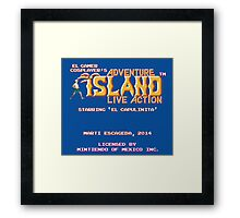 Adventure Island - Live Action Framed Print