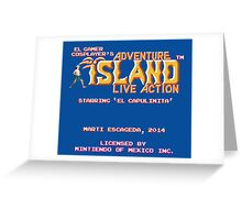 Adventure Island - Live Action Greeting Card