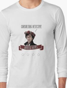 Consulting detective Sherlock Holmes Long Sleeve T-Shirt