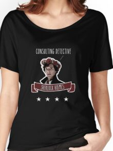 Consulting detective Sherlock Holmes Women's Relaxed Fit T-Shirt