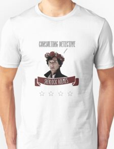 Consulting detective Sherlock Holmes T-Shirt