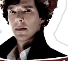 Consulting detective Sherlock Holmes Sticker