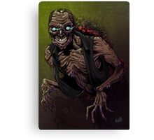 wall zombie Canvas Print
