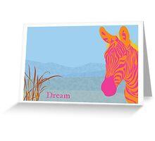 African Safari - Dream Greeting Card