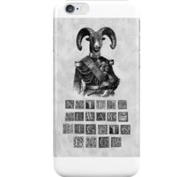 Nature Always Fights Back iPhone Case/Skin