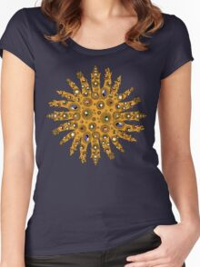 Golden Crown Thing with Jewels Women's Fitted Scoop T-Shirt