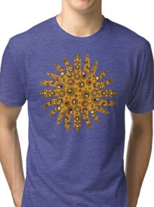 Golden Crown Thing with Jewels Tri-blend T-Shirt
