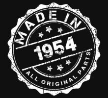 MADE IN 1954 ALL ORIGINAL PARTS by smrdesign