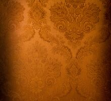 golden color texture pattern abstract  by Arletta Cwalina