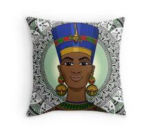 Black Girl Magic - Nefertiti Throw Pillow