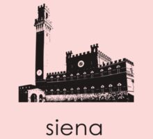 Siena - Minimalist T-Shirt (light colors only) Kids Clothes