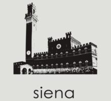 Siena - Minimalist T-Shirt (light colors only) by CaffeineSpark