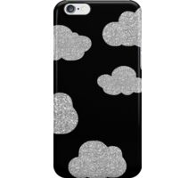 Silver and Black Lining  iPhone Case/Skin