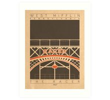 The Racer - 1927 (Orange) Art Print