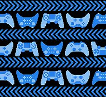 Love for Gaming - Blue by Amanda Rekdal