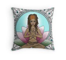 Black Girl Magic - Lotus Throw Pillow