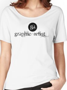 Graphic Artist Logo Women's Relaxed Fit T-Shirt