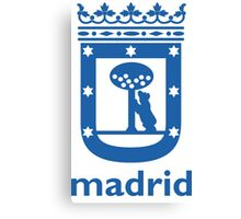 Logo of the city of Madrid  Canvas Print