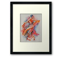 Allure of the Flamenco Framed Print