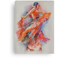 Allure of the Flamenco Canvas Print