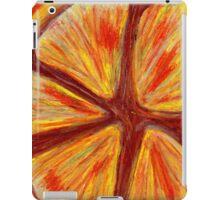 Orange segment iPad Case/Skin