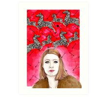 The Royal Tenenbaums - Margot Tenenbaum Art Print