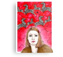 The Royal Tenenbaums - Margot Tenenbaum Metal Print