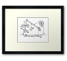 Suicide Bunnies | Butterfly Effect Framed Print