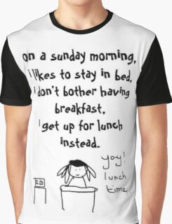 sunday lunch. Graphic T-Shirt