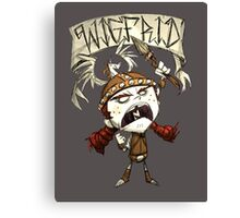 Wigfrid - Don't Starve Canvas Print