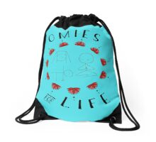 Omies for Life - Yoga Apparel Drawstring Bag
