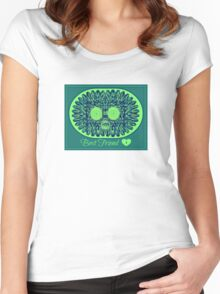 best friend Women's Fitted Scoop T-Shirt