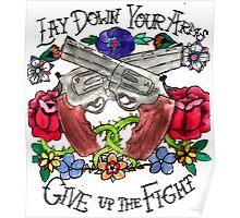 21 Guns Tattoo Poster