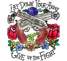 21 Guns Tattoo Photographic Print