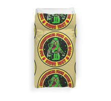 Bad Mofo from Outer Space Colour 2 Duvet Cover