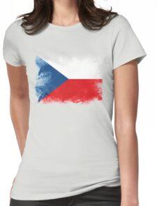 Czech Womens Fitted T-Shirt