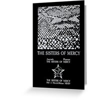 The Sisters Of Mercy - The Worlds End - Anaconda - Adrenochrome Greeting Card