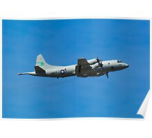 P3-Orion submarine hunter Poster